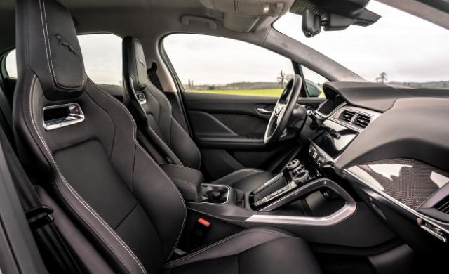 New Jaguar I-PACE car