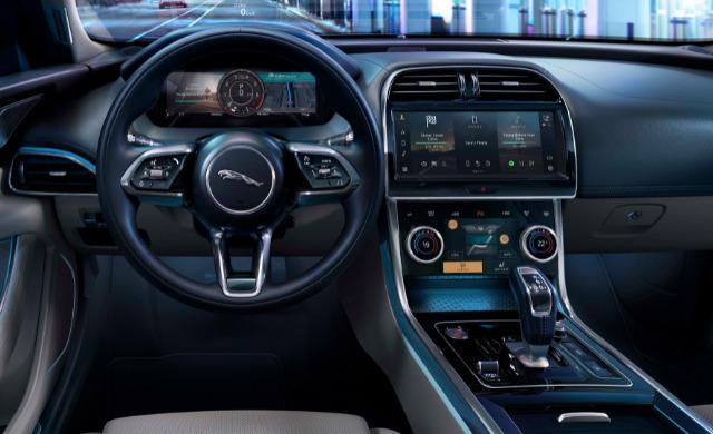 New Jaguar XE car