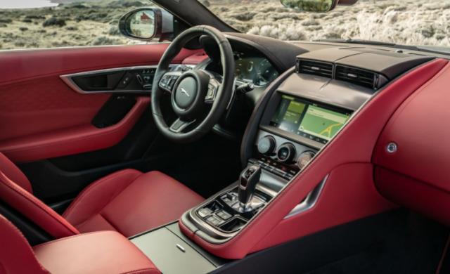 New Jaguar F-TYPE car
