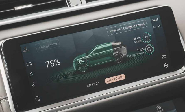 New Range Rover Velar car