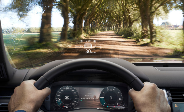 New Land Rover Discovery car