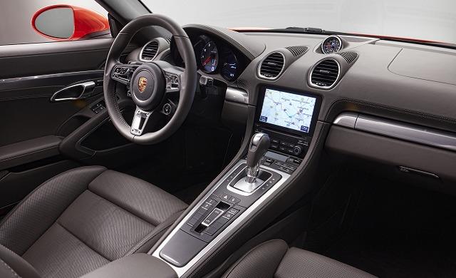 New Porsche 718 Boxster car