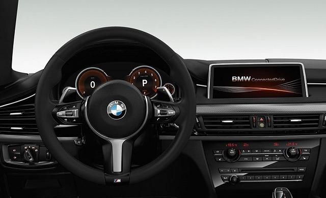 New BMW X6 M50d car