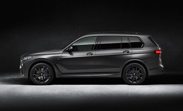 New 2021 BMW X7 M50d and M50i