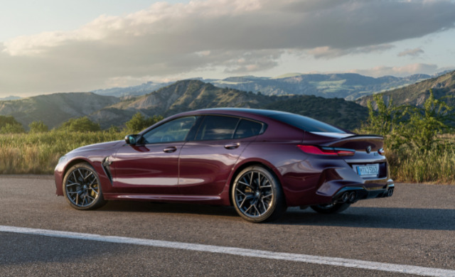 New 2021 BMW M8 Competition Gran Coupé