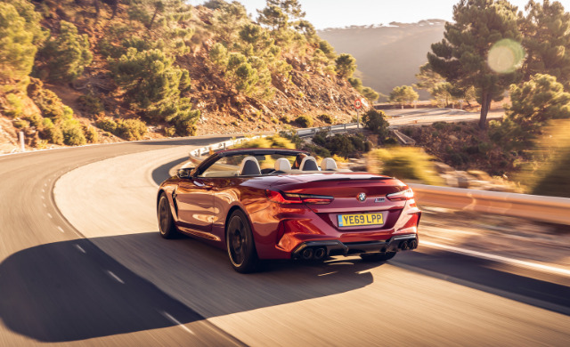 New 2021 BMW M8 Competition Convertible