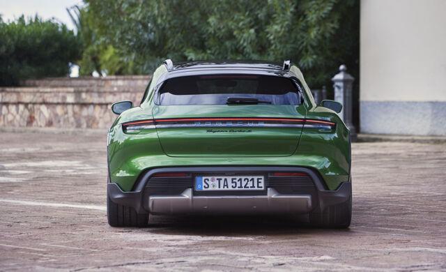 New 2021 Porsche Taycan Cross Turismo