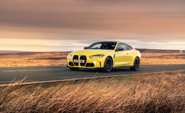 New 2021 BMW M4 Competition