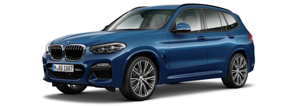 New BMW X3 finance offer