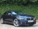 2019 BMW 420i M Sport Coupe (Blue) - Image: 4
