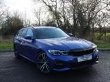 2020 BMW 320d M Sport Touring (Blue) - Image: 1