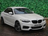 2019 BMW 218i M Sport Coupe (White) - Image: 1