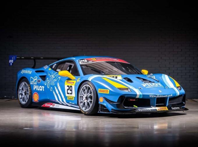 2019 Ferrari V8 GTB F1 DCT 2-door (Blue) - Image: 1