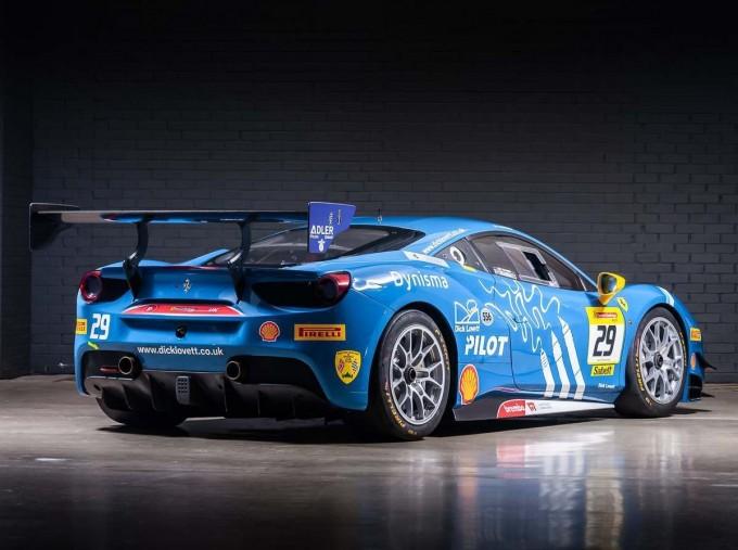 2019 Ferrari V8 GTB F1 DCT 2-door (Blue) - Image: 2