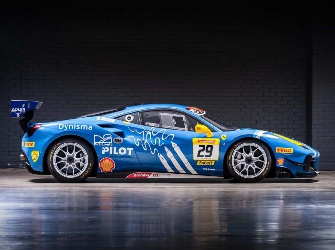 2019 Ferrari V8 GTB F1 DCT 2-door (Blue) - Image: 3