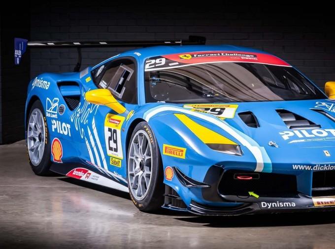 2019 Ferrari V8 GTB F1 DCT 2-door (Blue) - Image: 8