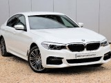 2019 BMW 530e M Sport iPerformance Saloon (White) - Image: 1