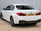 2019 BMW 530e M Sport iPerformance Saloon (White) - Image: 2
