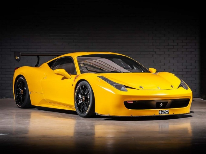 2012 Ferrari Italia Auto Seq 2-door (Yellow) - Image: 1