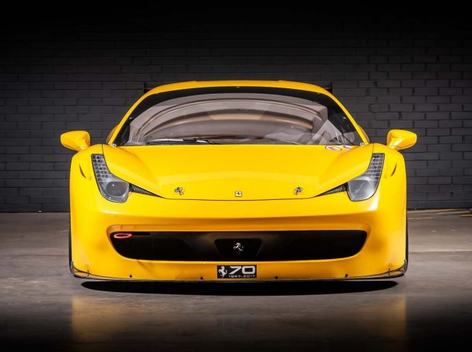 2012 Ferrari Italia Auto Seq 2-door (Yellow) - Image: 6