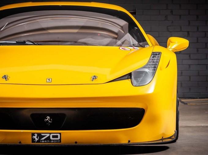 2012 Ferrari Italia Auto Seq 2-door (Yellow) - Image: 7