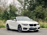 2020 BMW 218d M Sport Convertible (White) - Image: 1