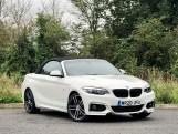 2020 BMW 218d M Sport Convertible (White) - Image: 2
