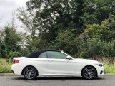 2020 BMW 218d M Sport Convertible (White) - Image: 6