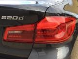 2019 BMW 520d M Sport Saloon 4-door Diesel Auto (190 ps) (Grey) - Image: 19