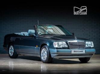 Reserve your 1994 Mercedes-Benz E Class E320 Cabriolet 2-door