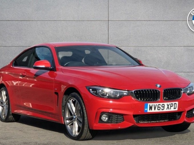 2019 BMW 420d xDrive M Sport Coupe (Red) - Image: 1