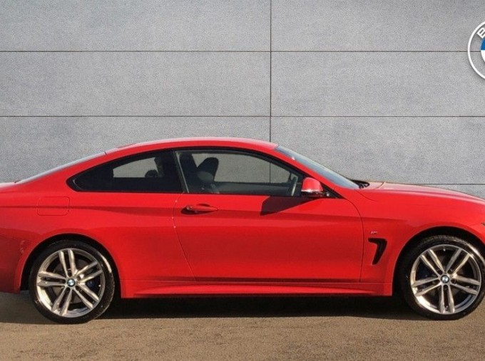 2019 BMW 420d xDrive M Sport Coupe (Red) - Image: 3
