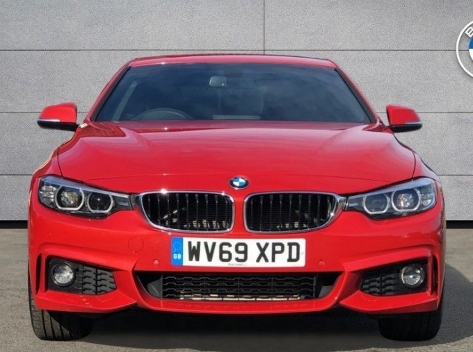 2019 BMW 420d xDrive M Sport Coupe (Red) - Image: 16