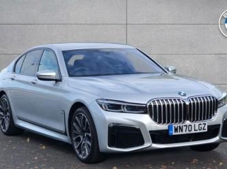 Reserve your 2020 BMW 7 Series 740d xDrive M Sport Saloon 4-door