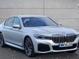 2020 BMW 740d xDrive M Sport Saloon (Silver) - Image: 1