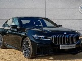 2020 BMW 740d xDrive M Sport Saloon (Black) - Image: 1