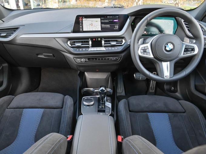 2020 BMW M135i xDrive (White) - Image: 4