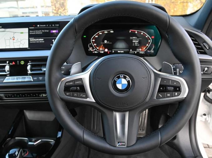 2020 BMW M135i xDrive (White) - Image: 5