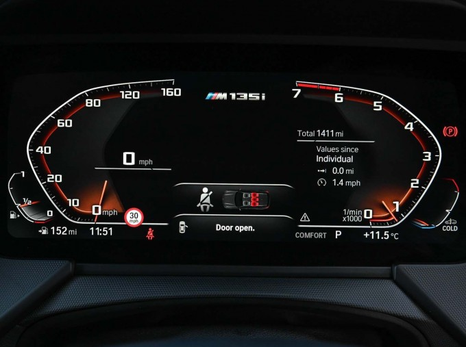 2020 BMW M135i xDrive (White) - Image: 9