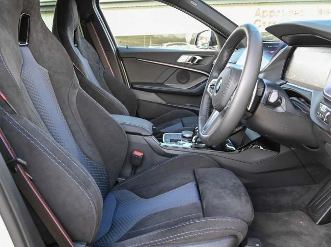 2020 BMW M135i xDrive (White) - Image: 11