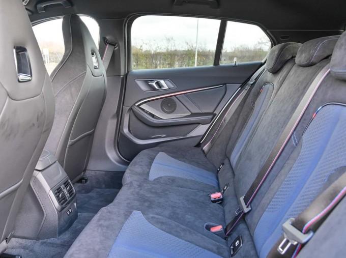 2020 BMW M135i xDrive (White) - Image: 12