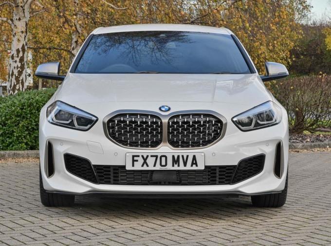 2020 BMW M135i xDrive (White) - Image: 16