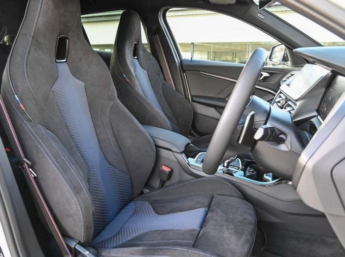 2020 BMW M135i xDrive (White) - Image: 31