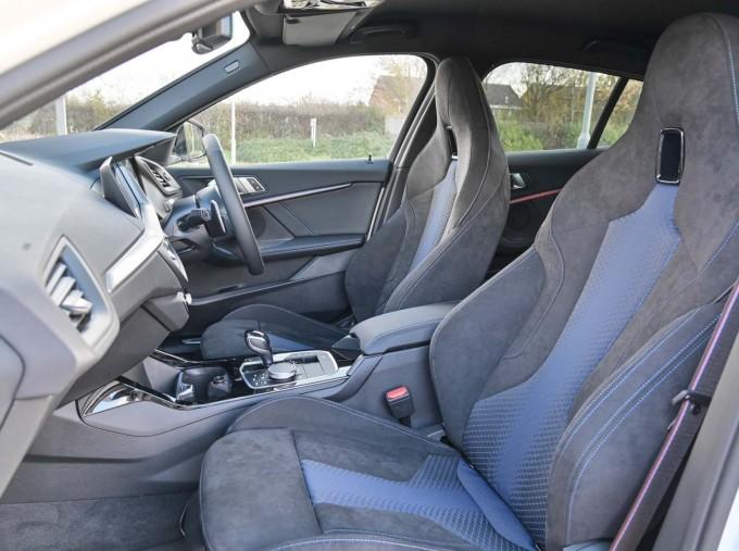 2020 BMW M135i xDrive (White) - Image: 33