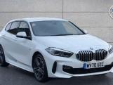 2020 BMW 118d M Sport (White) - Image: 1