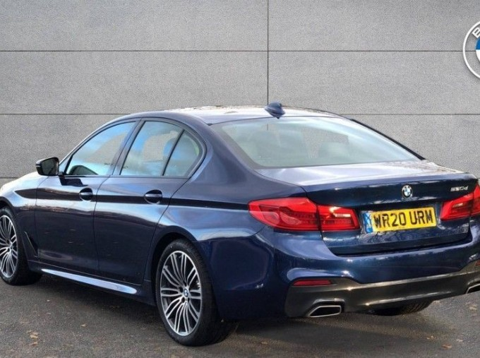 2020 BMW 530d M Sport Saloon (Blue) - Image: 2