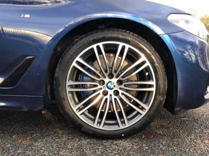 2020 BMW 530d M Sport Saloon (Blue) - Image: 14