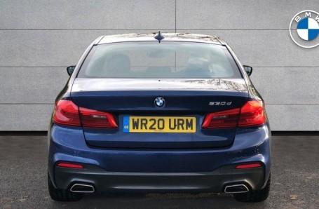 2020 BMW 530d M Sport Saloon (Blue) - Image: 15