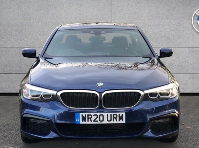 2020 BMW 530d M Sport Saloon (Blue) - Image: 16