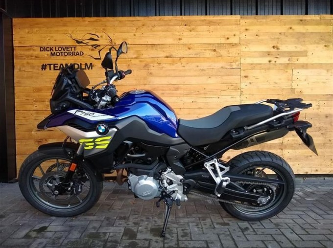 2020 BMW F750GS Unlisted Unknown (Blue) - Image: 4